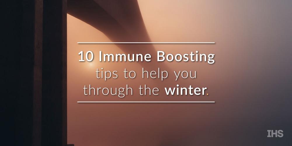10 immune boosting tips
